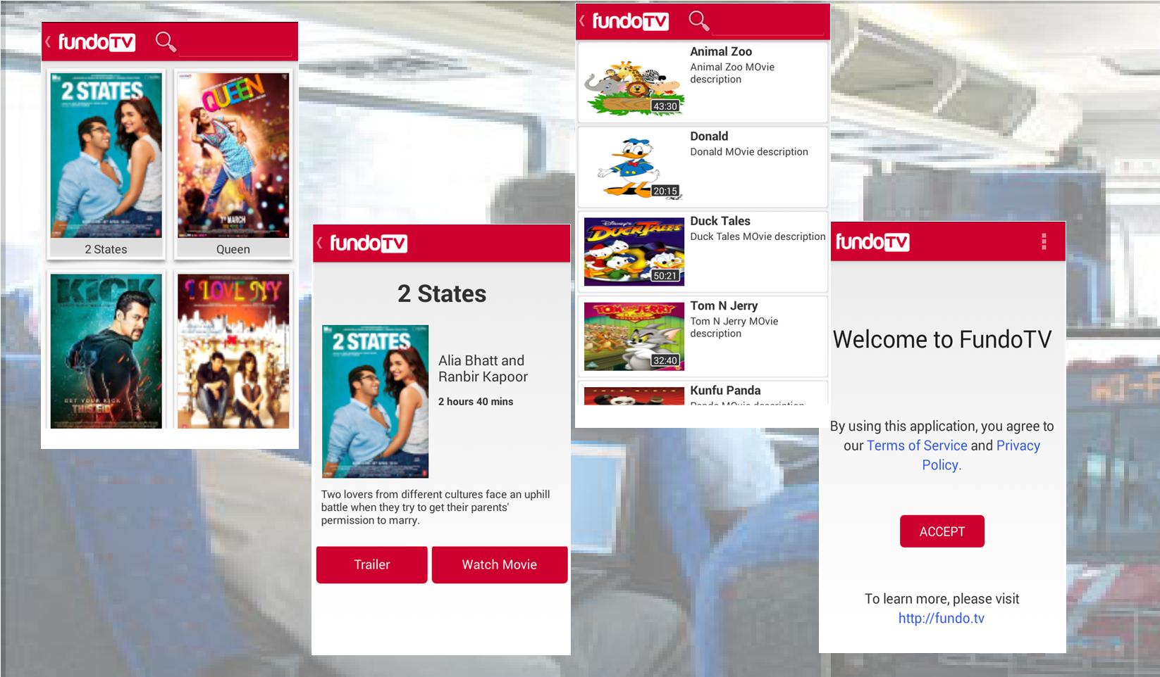 FundoTV On-board Wifi Entertainment - WifiSoft
